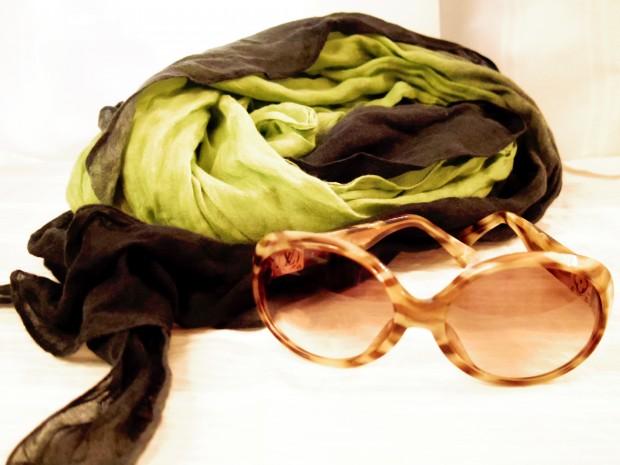 サングラス スカーフ